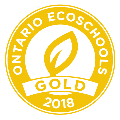EcoSchool Certified gold