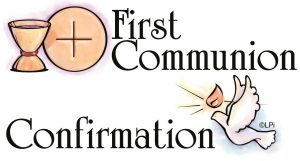 First Communion Registration Links Now Open